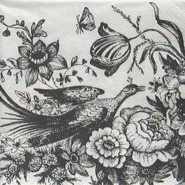 4836. Черно-белая птица.. 20 шт., 12 руб/шт