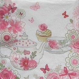 4842. Розовое чаепитие.