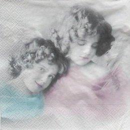 4865. Ангелы голубой и розовый.