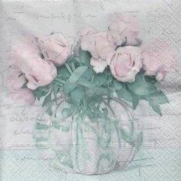 4945. Розы в банке. 5 шт., 33 руб/шт