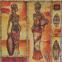 4949. Африканские женщины. 5 шт., 23 руб/шт