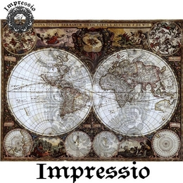 5085. Декупажная карта Impressio, плотность 45 г/м2