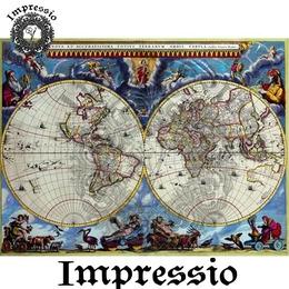 5087. Декупажная карта Impressio, плотность 45 г/м2