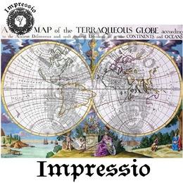 5097. Декупажная карта Impressio, плотность 45 г/м2