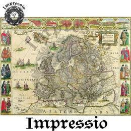6025. Декупажная карта Impressio, плотность 45 г/м2