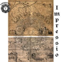 6039. Декупажная карта Impressio, плотность 45 г/м2