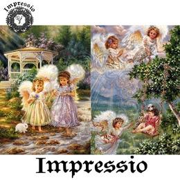 6057. Декупажная карта Impressio, плотность 45 г/м2
