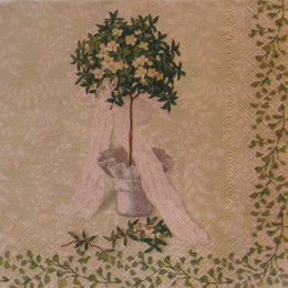 641. Деревце на зеленом. 5 шт., 20 руб/шт
