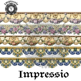 6537. Декупажная карта Impressio. Плотность 45 г/м2