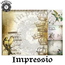 6581. Декупажная карта Impressio. Плотность 45 г/м2