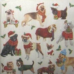 8140. Рождественские собачки