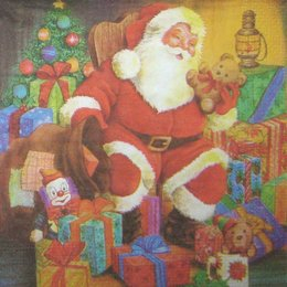 8154. Дед Мороз с подарками. 20 шт., 5,5 руб/шт