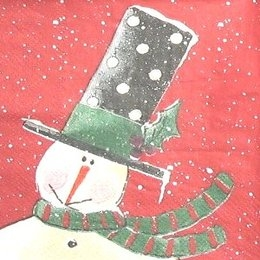 8269. Снеговик на бордо. 5 штук., 11 руб/шт
