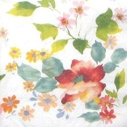 8289. Цветы акварелью. 5 шт., 10 руб/шт
