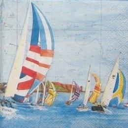 8637. Парусники в море.