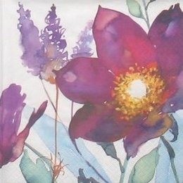 8683. Фиолетовые цветы. 5 шт., 12 руб/шт