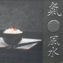 8735. Китайский обед на черном.
