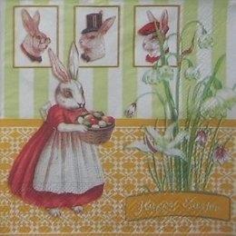 8890. Крольчиха с пасхальными яйцами. 5 шт., 16 руб/шт