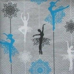 8961. Балерины на серебре