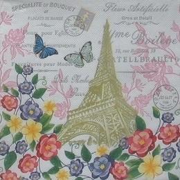 9010. Париж в цветах. Двухслойная
