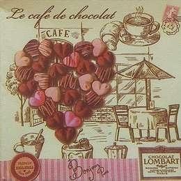 9138. Сердце из конфет. Двухслойная