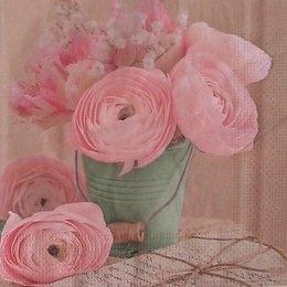 9169. Розы в ведре.