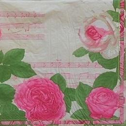 9229. Розы на нотах.