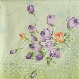 9356. Цветочки на зеленом