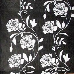 9530. Розы на черном