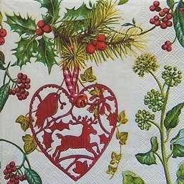 9628. Новогодние растения и украшения. 20 шт., 7 руб/шт