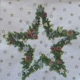 9636. Рождественская звезда. 10 шт., 7 руб/шт