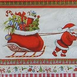 9647. Дед мороз и мешок с подарками