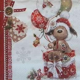 9652. Рождественская собачка