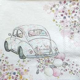 9673. Машина для молодоженов