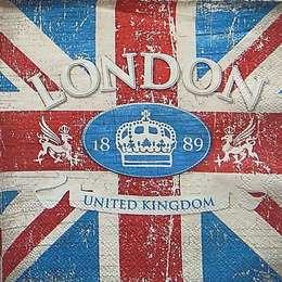 9705. Британский флаг. 10 шт., 9 руб/шт