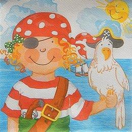 9762. Маленькие пираты. Двухслойная