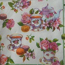 9766. Чайная роза. Двухслойная