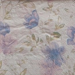 9769. Голубые цветы. 10 шт., 6,5 руб/ шт.
