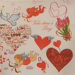 9828. Валентинов день. Двухслойная