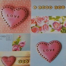 9830. LOVE. Двухслойная
