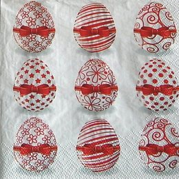 9835. Красные яйца. 10 шт., 6,5 руб/шт