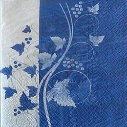 9863. Виноград на синем
