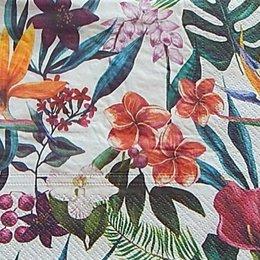 9873. Тропические цветы. 10 шт., 6,5 руб/шт