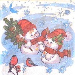 9915. Два снеговичка