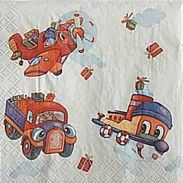 9973. Машинки и самолетики