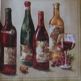 168. Четыре бутылки и бокал