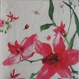 18. Красные цветы