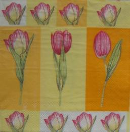 515. Тюльпаны на желтом