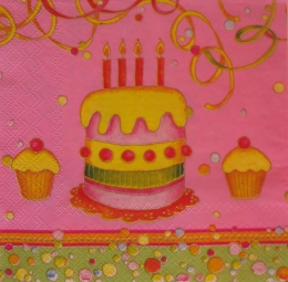 629. Торт на розовом