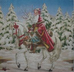 1504. Санта на  коне